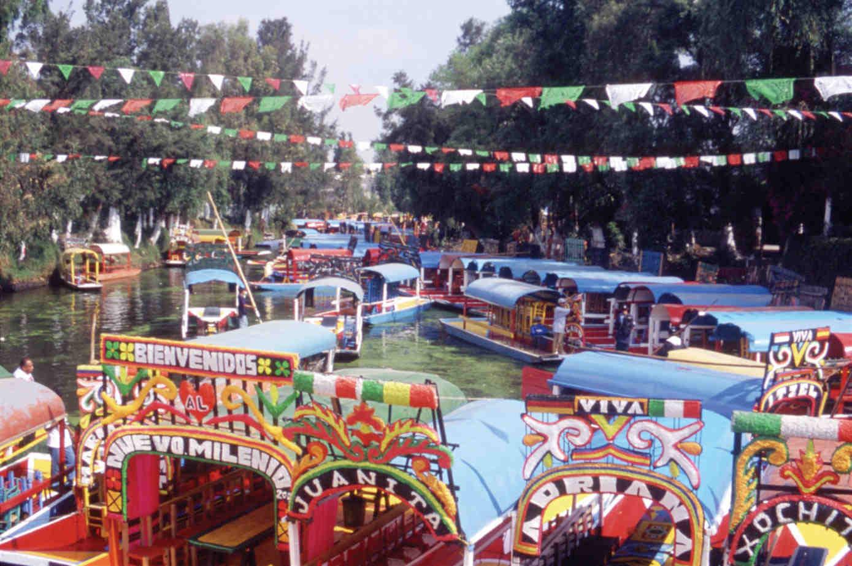 Ecoturismo en xochimilco tecnoespacio for Jardin xochimilco